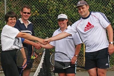2006 Mixed Doubles Finalists