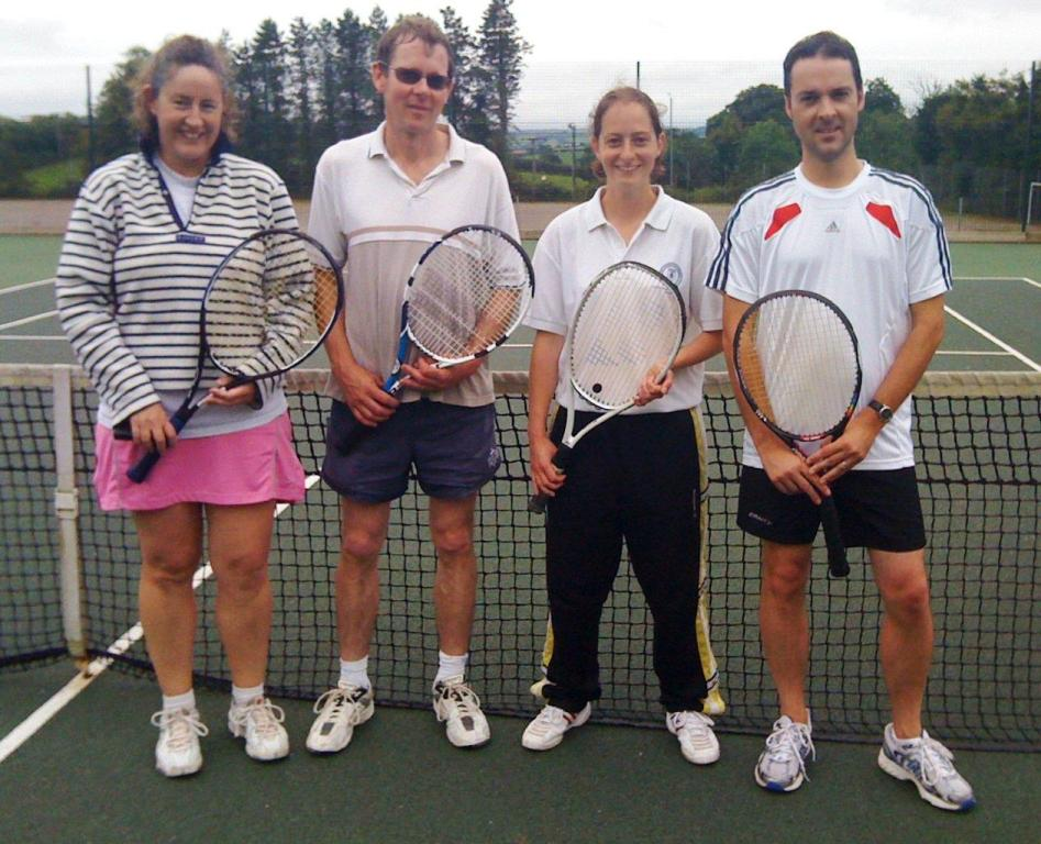 Mixed Doubles Finalists 2010