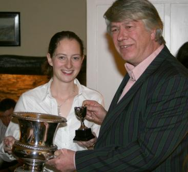 Sarah Statton - Ladies Champion