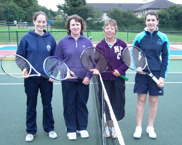 2008 Ladies Winners and Runners Up