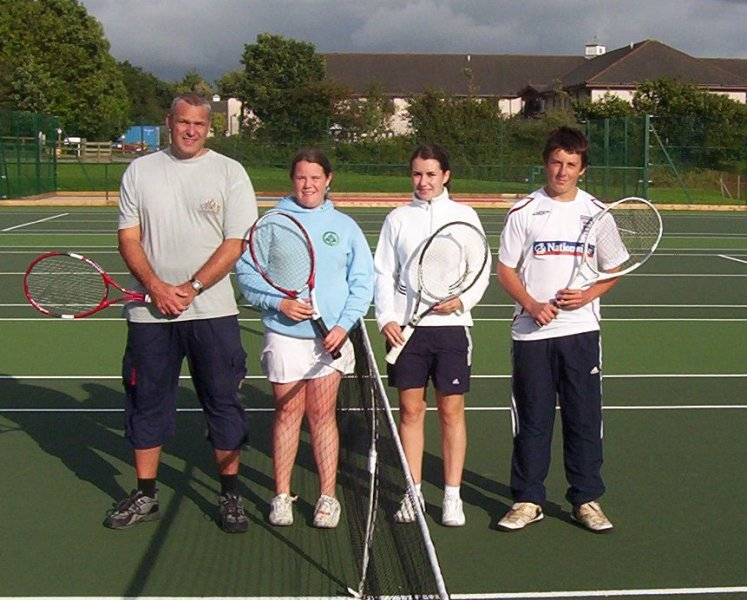 2008 Mixed Doubles Winners and Runners Up